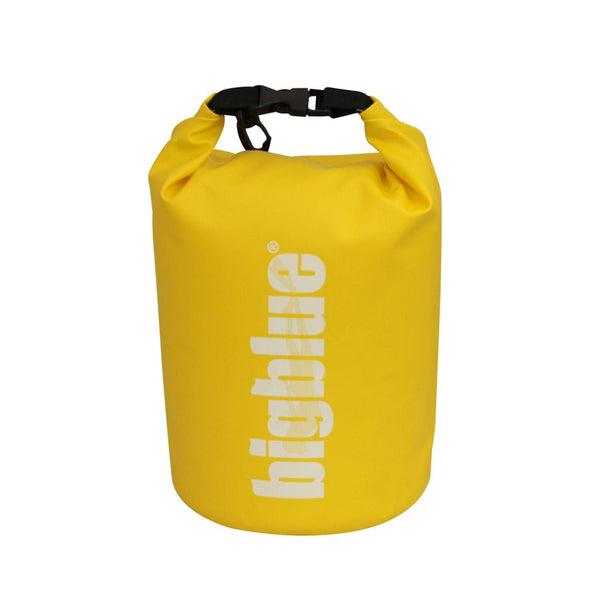 BigBlue Outdoor 7L Dry Bag - Yellow-DiveCatalog.com - Dive Catalog - Scuba Diving and Underwater Photography Gear Specialty Store