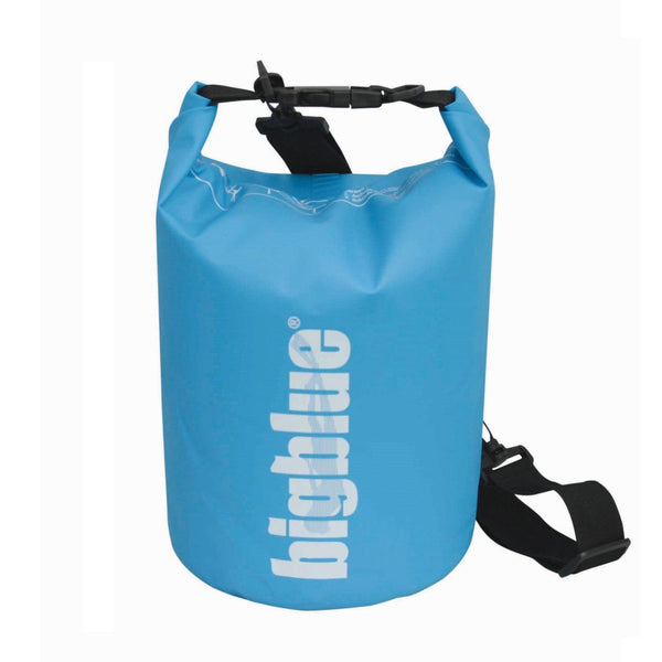 BigBlue Outdoor 5L Dry Bag - Light Blue-DiveCatalog.com - Dive Catalog - Scuba Diving and Underwater Photography Gear Specialty Store