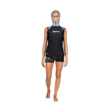 Mares Ultraskin Sleeveless She Dives Rash Guard with Hood - Womens