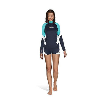 Mares Loose Fit Long Sleeve She Dives Rash Guard - Womens