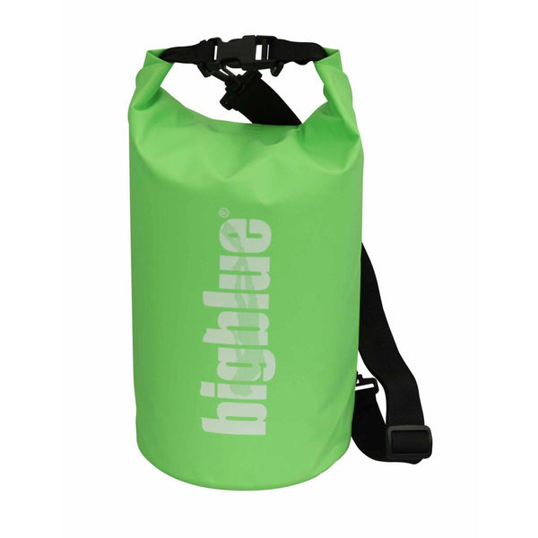 BigBlue Outdoor 5L Dry Bag - Green-DiveCatalog.com - Dive Catalog - Scuba Diving and Underwater Photography Gear Specialty Store