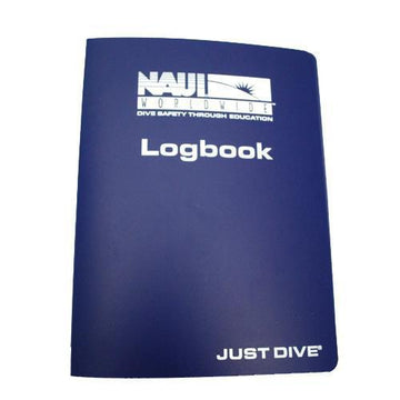 NAUI Vinyl Binder Logbook Cover