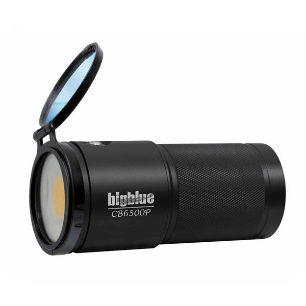 BigBlue 1800 Lumen Warm White Video Light with Red Mode-DiveCatalog.com - Dive Catalog - Scuba Diving and Underwater Photography Gear Specialty Store