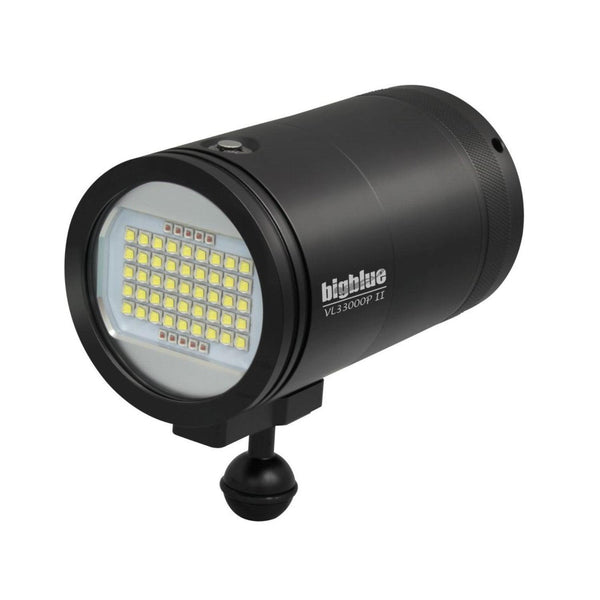 BigBlue 33,000 Lumen Video Light - Black-DiveCatalog.com - Dive Catalog - Scuba Diving and Underwater Photography Gear Specialty Store