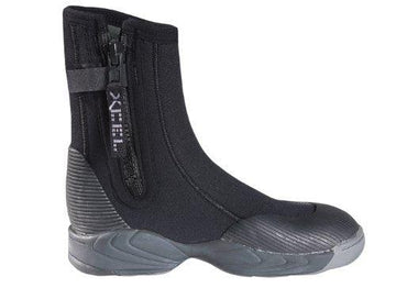 Xcel Dive ThermoBarrier Molded Sole 6.5mm Boot - Black - Size 7