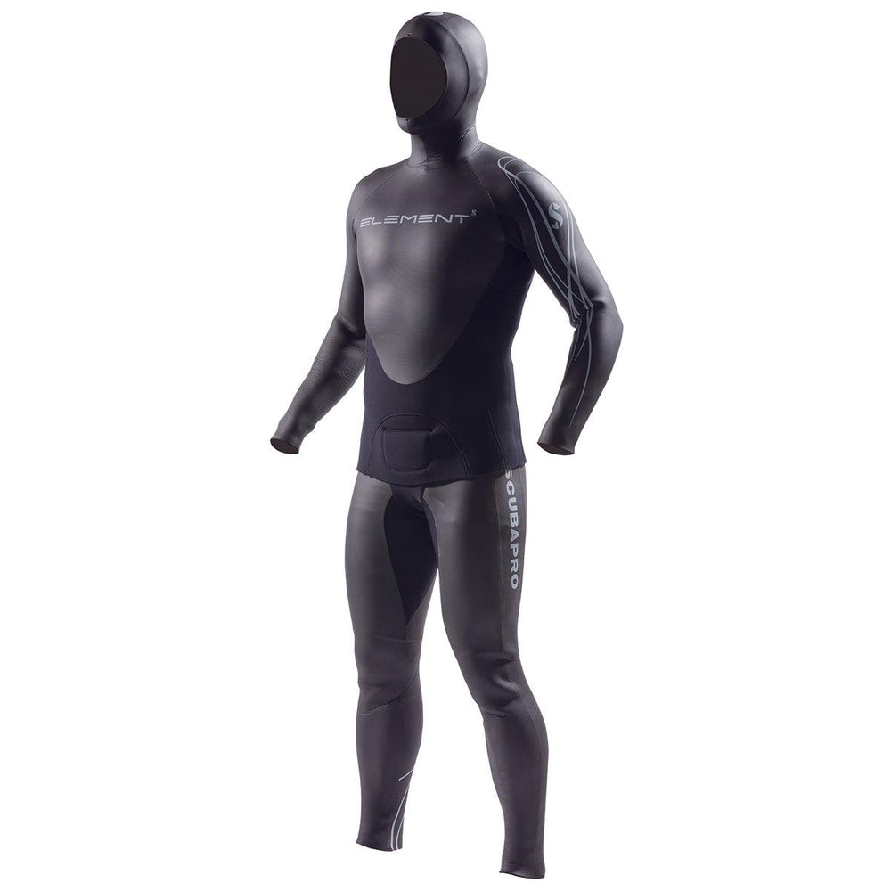 ScubaPro Mens Element 2PC Apnea 3mm Wetsuit (Small)
