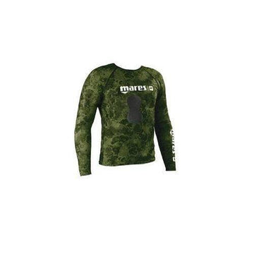 Mares Rash Guard Camo Top with Chest Pad