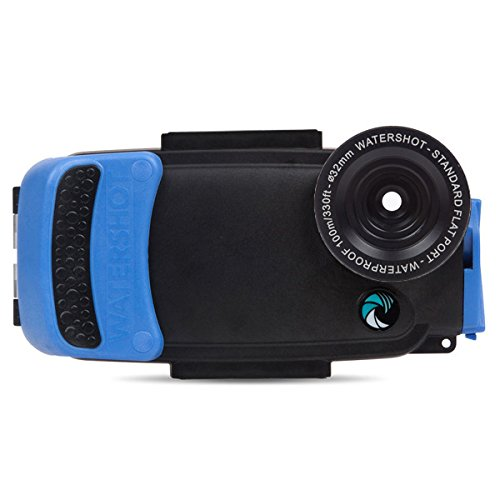 Watershot Pro Underwater Smart Phone Camera Housing for iPhone 6 Plus & 6s Plus (flat lens only)