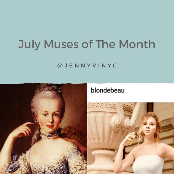 Thank you to our July Muse of the Month