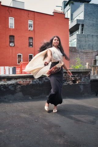 Deepa Akula of OurTravelStories9 in Jennyvi New York / ImageDiary Collaborative Piece