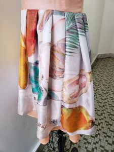 "Image Diary ""Post War Fruit Market"" Dress Collaboration"
