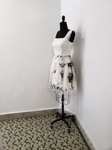 Image Diary Collaboration:  Memorial Water Vines Dress