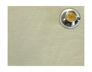 Grey/White Colored Placemat