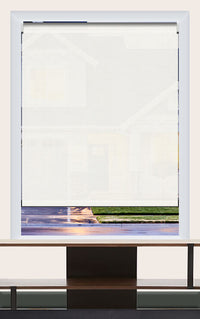 Render of Phifer Sheerweeve 2410 Oyster Roller Shade