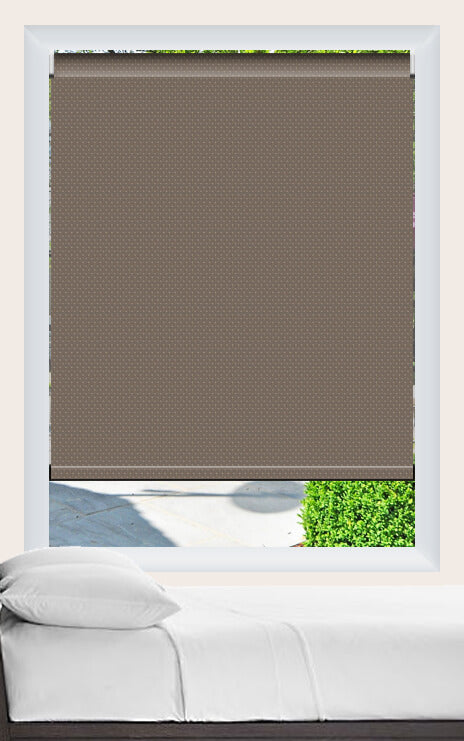 Render of Somnio Taupe Roller Shade