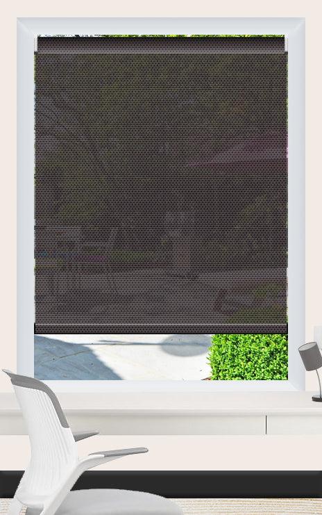 Render of Phifer Sheerweave 4100 Tobacco Roller Shade
