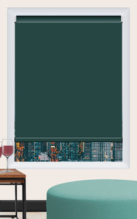 Render of Vinyl Emerald Roller Shade