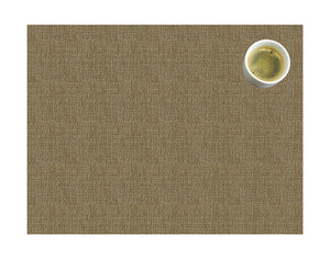 Beige colored placemat