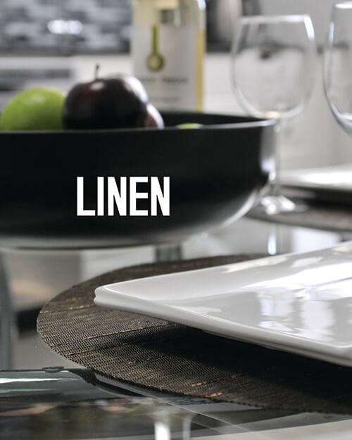 Lifestyle Photography of Linen Placemats