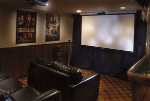 Projection screen in Home Theater