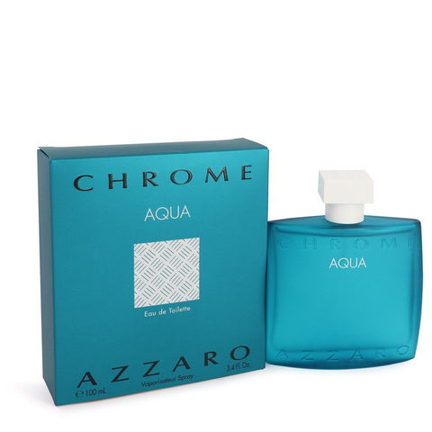 Chrome Aqua Cologne By Azzaro Eau De Toilette Spray
