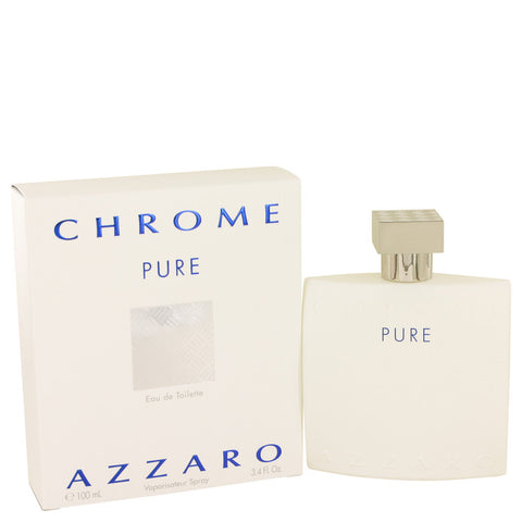 Chrome Pure Eau De Toilette Spray By Azzaro