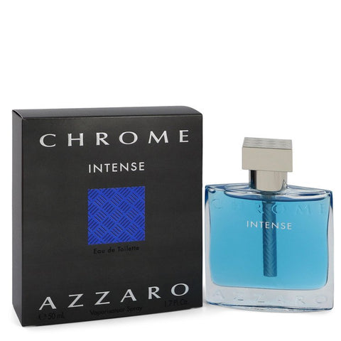 Chrome Intense Cologne By Azzaro Eau De Toilette Spray
