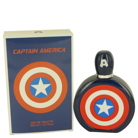 Captain America Eau De Toilette Spray By Marvel