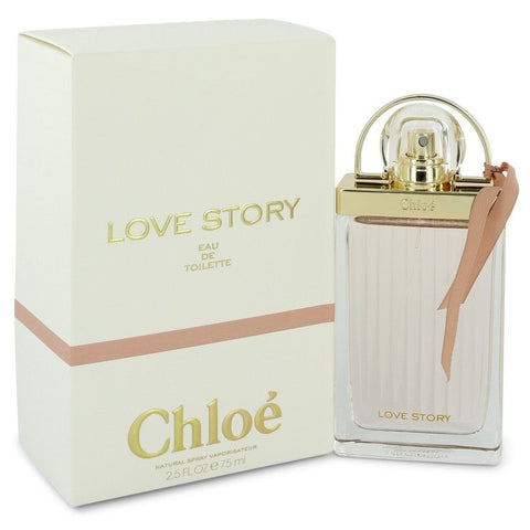 Chloe Love Story Eau De Toilette Spray By Chloe