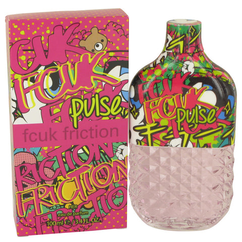 Fcuk Friction Pulse Eau De Parfum Spray By French Connection