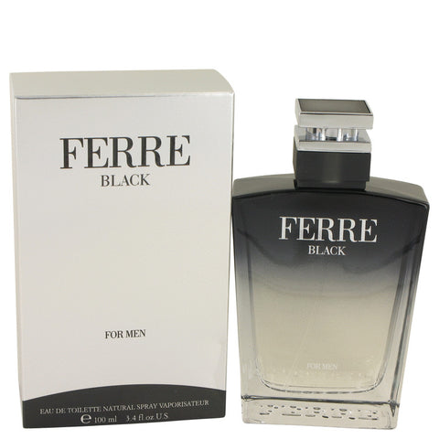 Ferre Black Eau De Toilette Spray By Gianfranco Ferre