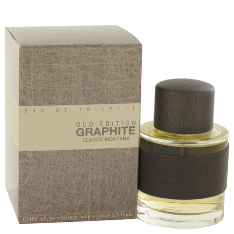 Graphite Oud Edition Eau De Toilette Spray By Montana