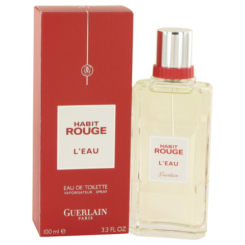 Habit Rouge L'eau Eau De Toilette Spray By Guerlain