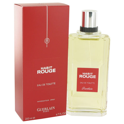 Habit Rouge Eau De Toilette Spray By Guerlain