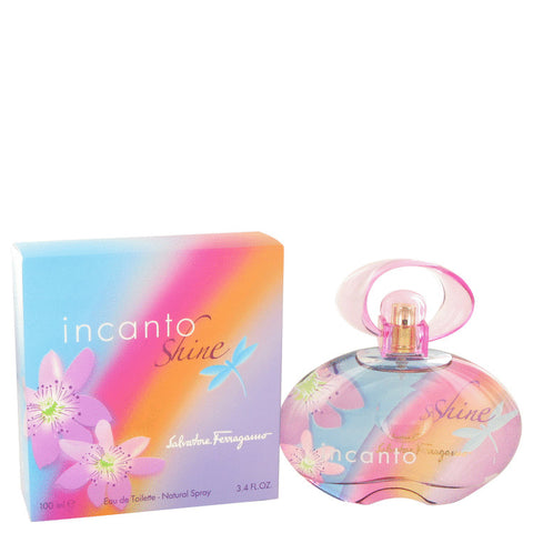 Incanto Shine Eau De Toilette Spray By Salvatore Ferragamo