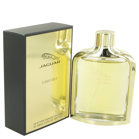 Jaguar Classic Gold Eau De Toilette Spray By Jaguar