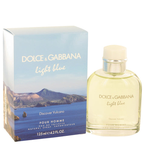 Light Blue Discover Vulcano Eau De Toilette Spray By Dolce & Gabbana