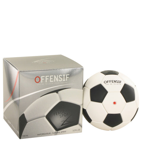 Offensif Soccer Eau De Toilette Spray By Fragrance Sport