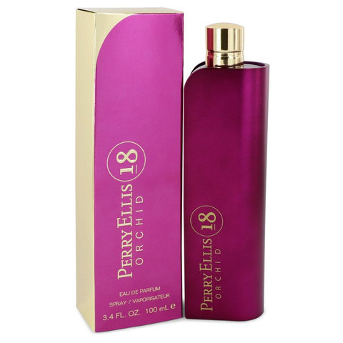 Perry Ellis 18 Orchid Eau De Parfum Spray By Perry Ellis