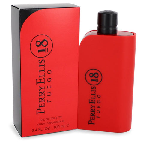 Perry Ellis 18 Fuego Cologne By Perry Ellis Eau De Toilette Spray