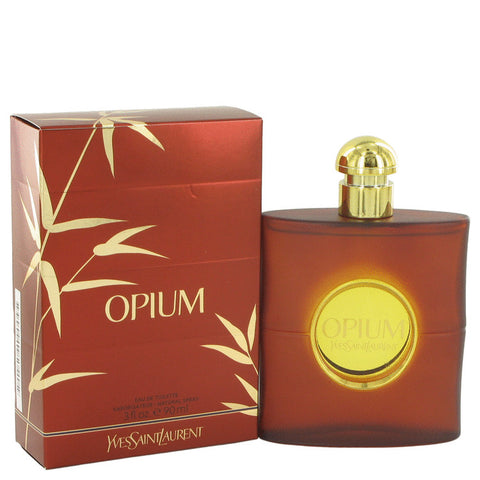 Opium Eau De Toilette Spray (New Packaging) By Yves Saint Laurent