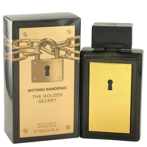 The Golden Secret Eau De Toilette Spray By Antonio Banderas