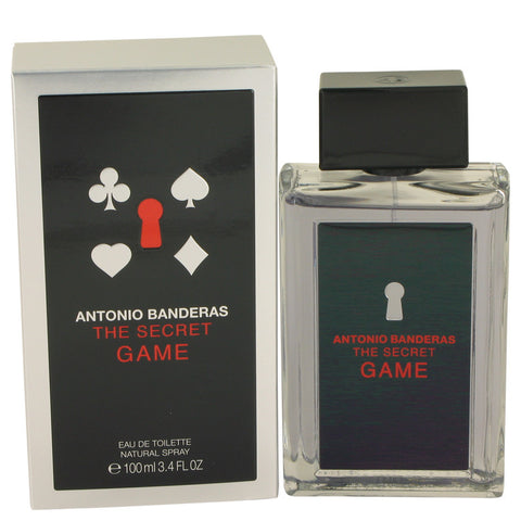 The Secret Game Eau De Toilette Spray By Antonio Banderas
