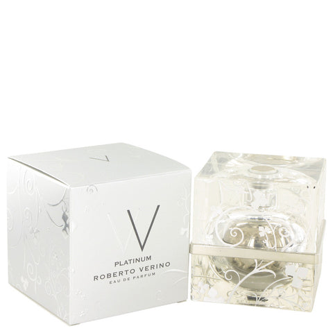 V V Platinum Eau De Parfum Spray By Roberto Verino
