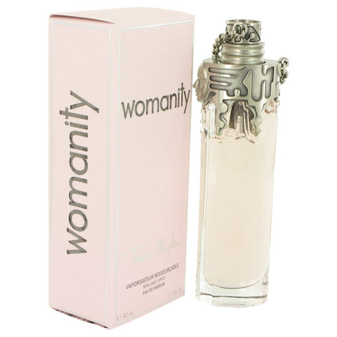 Womanity Eau De Parfum Refillable Spray By Thierry Mugler