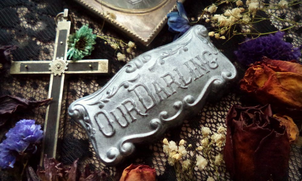 Our Darling Casket Plate Soap