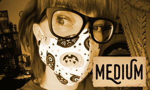 Non-Medical Fabric Masks | Size MEDIUM