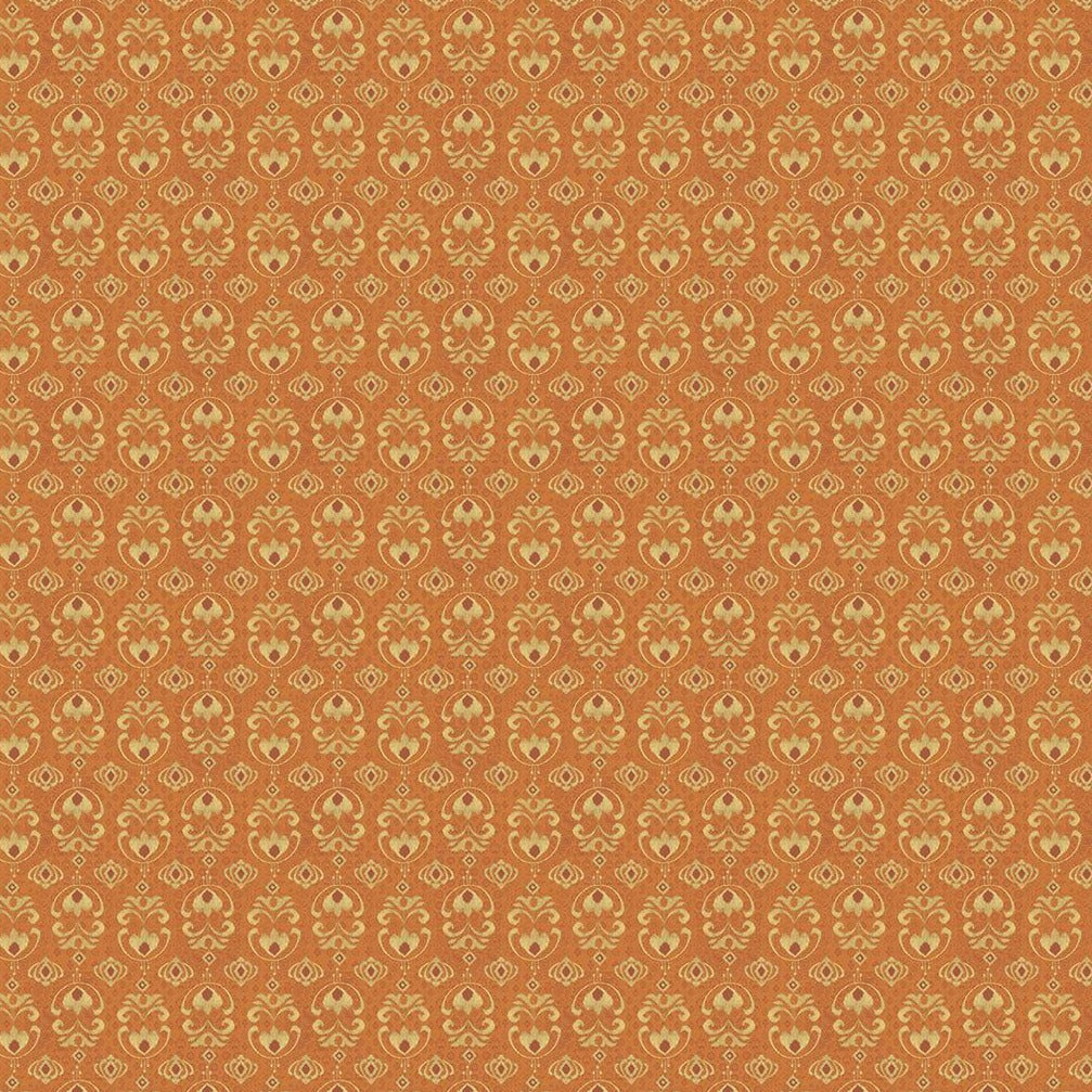 Peacock Pavillion - Geometric Orange | 9860-33