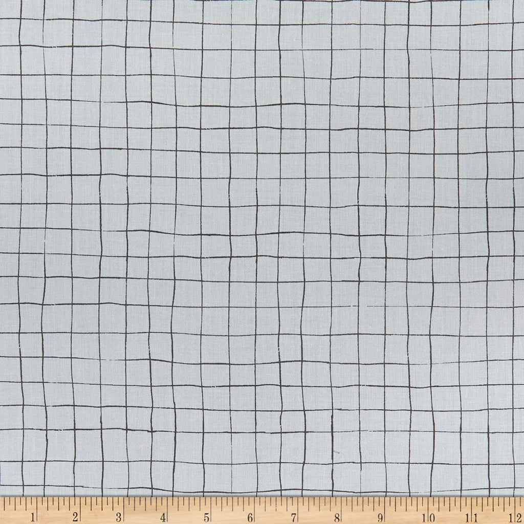 Scaredy Cat - Grid Gray | C9416-GRAY