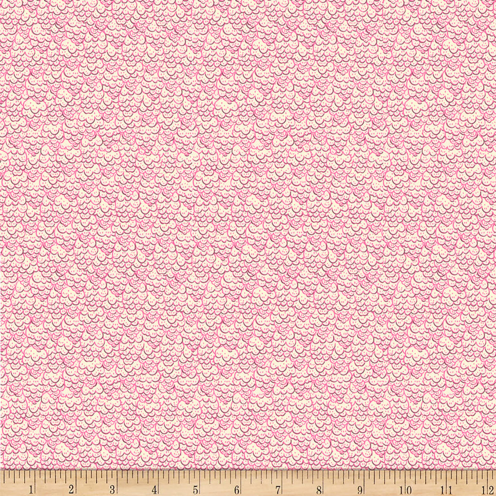 Evelyn - Scallops Pink | 1649-27571-P